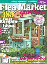 The adorable garden shed on the magazine cover was built by one of my ...