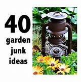 Junk made beautiful! | Green Thumb | Pinterest