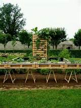 Raised Wooden Pallet Gardening | Gardening Ideas | Pinterest