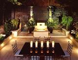 outdoor-patio-lighting-ideas-with-dining-table - FelmiAtika.com