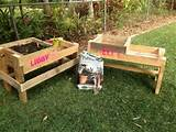 pallet raised bed gardens raised beds pallet ideas raised garden