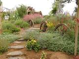 ideas homes wheels angelic landscaping garden art hillside mass