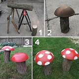 Garden decoration ideas with old household items or flea market items