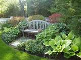 Landscape ideas for a secret garden to hide and relax in peace