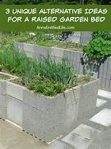 unique alternative ideas for a raised garden bed