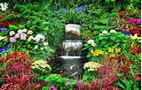 زیباترین باغ دنیا با گل های طبیعی (+عکس)