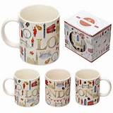 London Landmarks Jan Pashley Bone China Mug