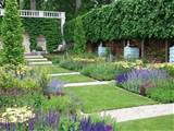 pictures of formal english gardens