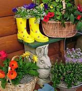 ... Inspirations > Container Gardening > Diy Patio Garden Container Ideas
