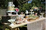 Vintage Rustic Garden themed birthday party via Kara's Party Ideas ...