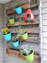 Vertical Gardening out of Recycle Pallets | Wooden Pallets Ideas for ...