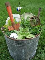 ... Junk Gardens Ideas, Miniatures Junk Gardens, Easy Junk, Gardens Junk