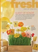 fresh party ideas from better homes and garden magazine