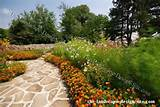 Flagstone Garden Path Border Plantings