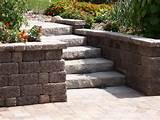 under deck with retaining wall steps minnesota landscaping ideas