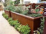 panels are thin. Not flimsy–it's plenty sturdy for a planter box ...
