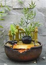 Indoor Garden Designs, Oriental Water Indoor Feature