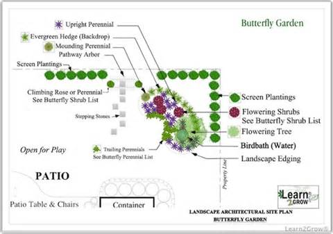 butterfly garden plan zone 5 and up gardening pinterest best garden