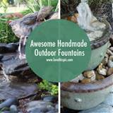 Homemade Outdoor Fountain Ideas