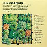 garden plan 2x2 salad 2014 idea gardens june home and garden easy