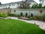 ... landscaping ideas images, backyard landscaping ideas along fence