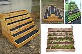 ... Tiered Garden, Raised Vegetable Garden, Tiered Planter, Raised Garden