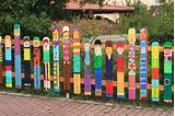 fence mural sart diy home decorating garden decor great diy ideas