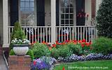 Front Porch Landscape on Pinterest | Southern Landscaping, Lattice ...