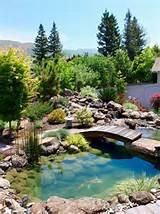 Cascade de jardin impressionnante: colonnade avec rideau d'eau