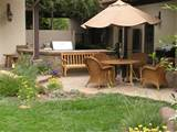 patios put garden space to good use