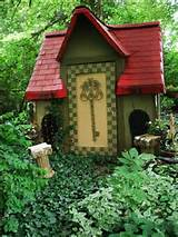 Playhouse | Alice in wonderland theme garden ideas | Pinterest