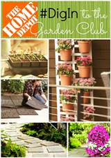... Crafts: Spring Garden Inspiration from The Home Depot #DigIn #DigInHD