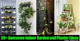 39+ Awesome Indoor Garden and Planter Ideas -