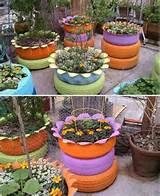 decora o de jardim com material reciclado decorando casas