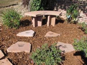 Small Tree Memorial Garden Stone Ring Images - Frompo