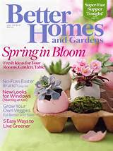 gardens april 2009 better homes and gardens magazine delivers ideas