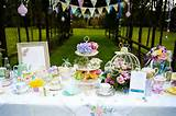 outdoor buffet table decoration ideas garden party decorating ideas