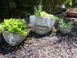 cement pots creative garden ideas pinterest