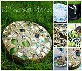 how to make beautiful diy mosaic garden stepping stones step by step