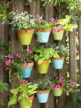 Cute garden idea for fences. | DIY | Pinterest