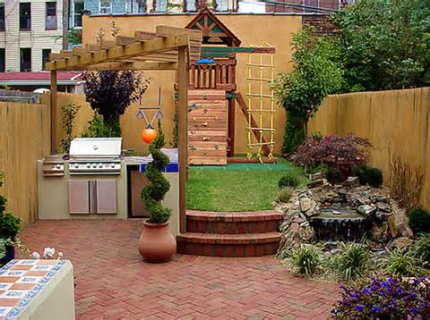 Small Backyard Ideas, Small Backyard Remodel Design
