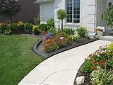 Bed Edging Ideas for Floweriest Garden: A Neat Edge Between The Lawn ...