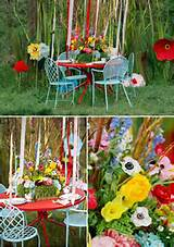 garden wedding | wedding reception centerpieces and decorations ...