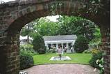 garden house at keeler tavern museum ridgefield ct