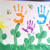 too crafts ideas handprint flower preschool ideas kids crafts