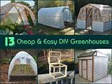 ... greenhouses there's no excuse for you not to build your own and
