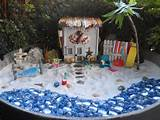 fairy beach garden fairyland garden stuff pinterest