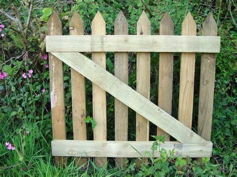 wooden gates home design