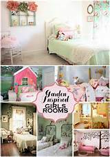garden inspired girls rooms ideas collage