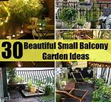30 Beautiful Small Balcony Garden Ideas